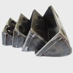 kubełki stalowe do śrutu